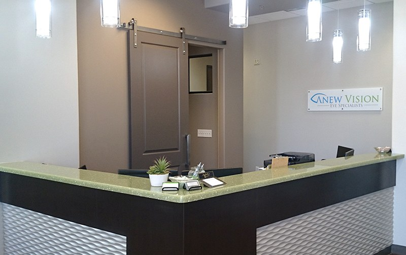 Front Desk at Anew Vision Eye Specialists